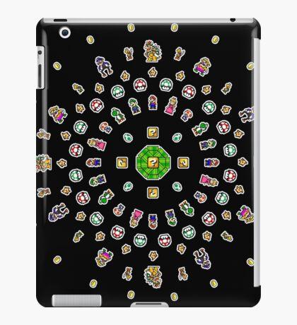 8-Bit Mario Mandala iPad Case/Skin