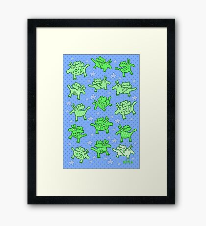 Nits for Kids - Print of Dragons Framed Print
