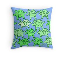 Nits for Kids - A Cushion of Dragons Throw Pillow