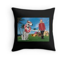 Zelda's Agility Competition Day Throw Pillow