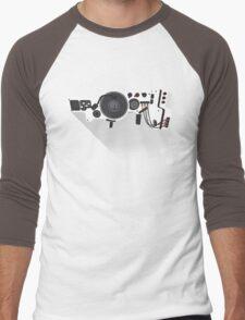 Dub Step Gun Men's Baseball ¾ T-Shirt