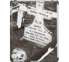 """"""" Annie """"  Graveyard Adornments #44 iPad Case/Skin"""