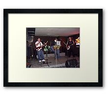 worminators at duth inn Framed Print