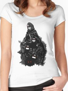 Black Spirit, your best companion Women's Fitted Scoop T-Shirt