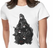 Black Spirit, your best companion Womens Fitted T-Shirt