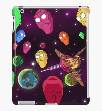 Show Me What You Got! (Rick and Morty) iPad Case/Skin