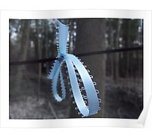 Ribbon in the Wood Poster