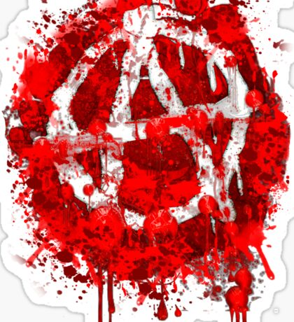 BLOODY ANARCHY Sticker