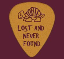 Lost Guitar Pick Mustard by PartisanArtisan
