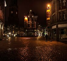 Lights of Night Utrecht. Netherlands by JennyRainbow