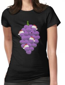 Merry Christmas Member Berries Womens Fitted T-Shirt