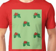 sequin christmas Holly Unisex T-Shirt