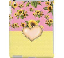 Charming Sunflowers iPad Case/Skin