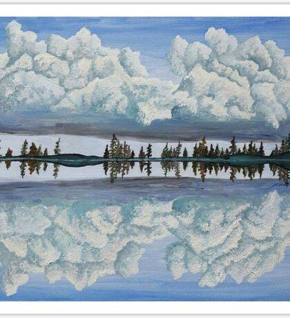 Clouds Reflection Sticker