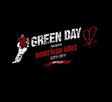 American Idiot 10th Anniversary Logo by StJimmyKid