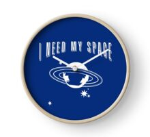 I Need My Space Funny Astronomy Clock