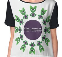 Alien Collective Chiffon Top