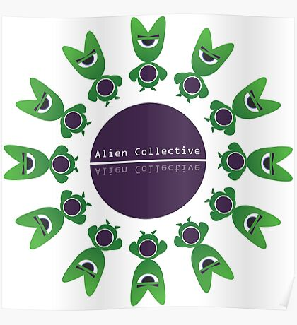 Alien Collective Poster