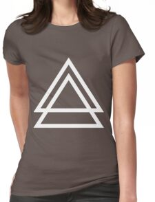 Triple Triangle Womens Fitted T-Shirt