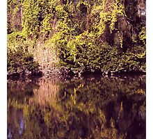 Magical river reflections Photographic Print