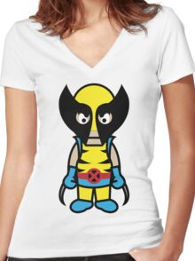 Wolverine - Cloud Nine Women's Fitted V-Neck T-Shirt
