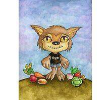 vegan werewolf Photographic Print