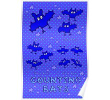 Nits for Kids - Counting Bats Poster