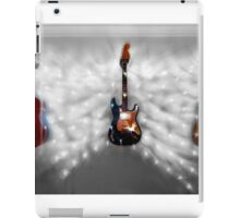 Christmas Guitars Greeting Card iPad Case/Skin