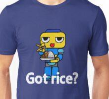 Servbot #41. Got Rice? (UNOFFICIAL) Unisex T-Shirt