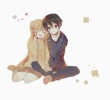 Kirito and Asuna Kids Clothes