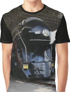 Norfolk and Western 611 Steam Train Graphic T-Shirt