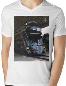 Norfolk and Western 611 Steam Train Mens V-Neck T-Shirt