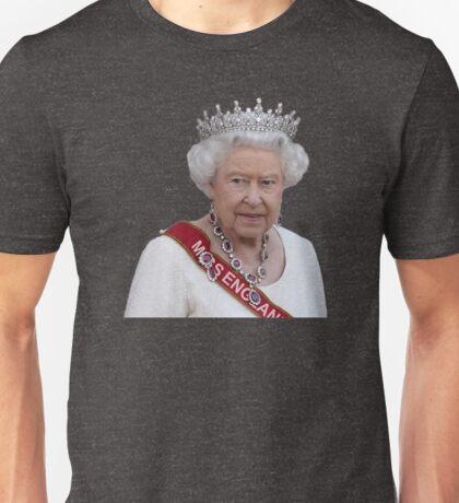 Queen Elizabeth II - Miss England Unisex T-Shirt