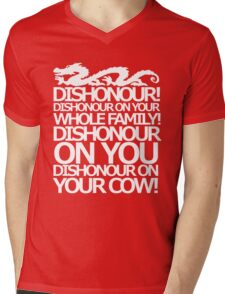 Dishonour on your cow!  Mens V-Neck T-Shirt