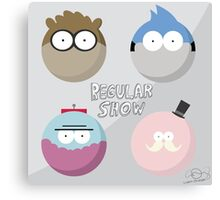 Regular Show: Design 1 Canvas Print
