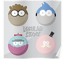 Regular Show: Design 1 Poster
