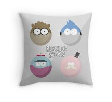 Regular Show: Design 1 Throw Pillow