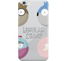 Regular Show: Design 1 iPhone Case/Skin