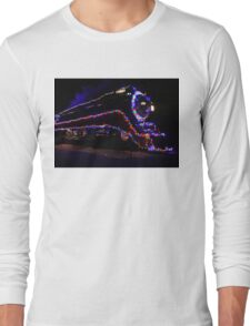 SP 4449 Steam Train With Christmas Lights Long Sleeve T-Shirt