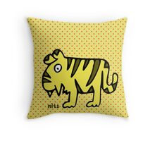 Nits for Kids - Tansy the Tiger Cushion Throw Pillow