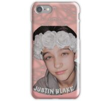 Justin Drew Blake Flower Crown iPhone Case/Skin