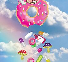 Piñata Pink Molly Donut 2 by OnlyRealMcCoy