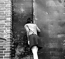 retro photo woman by Krzyzanowski Art