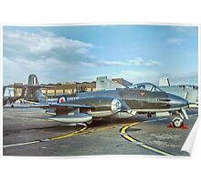 Gloster Meteor F.8 VZ467/01 Poster