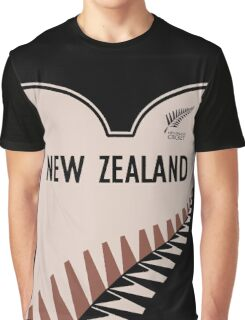 New Zealand cricket Graphic T-Shirt
