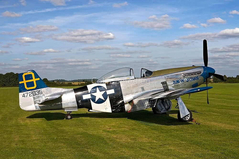 """P-51D Mustang 44-72035 """"Jumpin' Jacques"""" by Colin Smedley"""