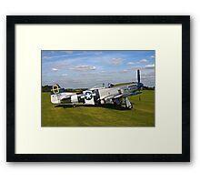 "P-51D Mustang 44-72035 ""Jumpin' Jacques"" Framed Print"