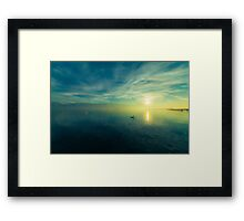 Silence On The Water Framed Print