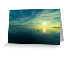 Silence On The Water Greeting Card