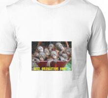 Save Orangutans Now Unisex T-Shirt